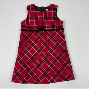 Old Navy Red Plaid Dress